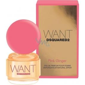 Dsquared2 Want Pink Ginger parfémovaná voda pro ženy 30 ml