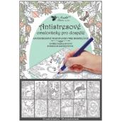 Kreativní omalovánky zvířecí království 12 motivů, 24 listů 23 x 16 cm