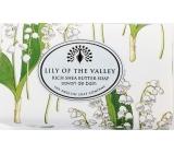 English Soap Vintage Konvalinka z údolí Přírodní parfémované mýdlo s bambuckým máslem 200g