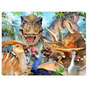 Prime3D pohlednice - Dino Selfie 16 x 12 cm