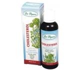 Dr. Popov Cholesterol originální bylinné kapky udržují normální hladinu krevních tuků, přispívají k metabolismu tuků - cholesterolu 50 ml