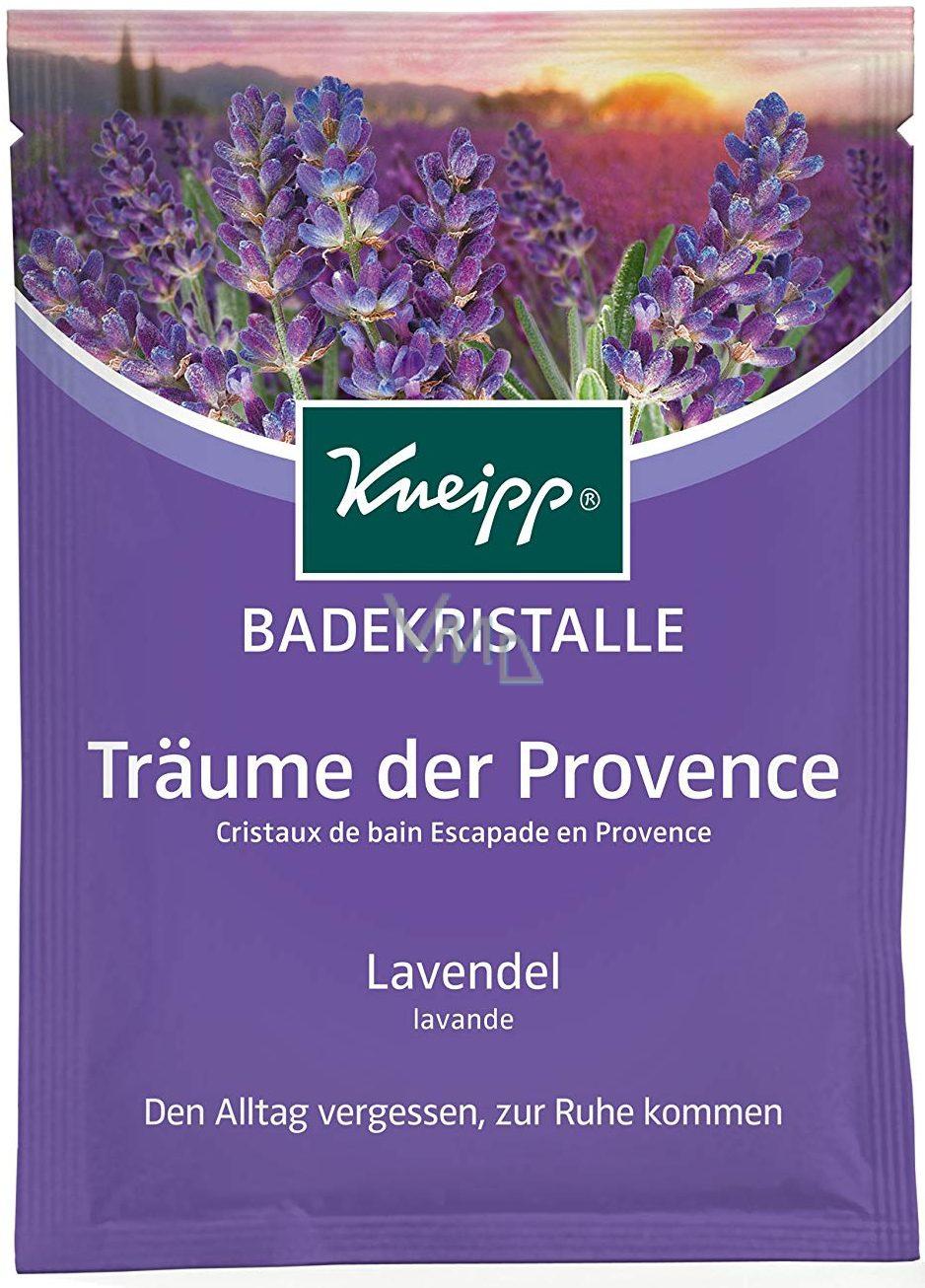 Kneipp Levandulové snění sůl do koupele, uvolňuje tělo a přináší intenzivní relaxaci 60 g