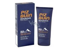 Piz Buin Mountain Suncream SPF50+ hydratační krém chrání pokožku před sluncem, chladem a suchým větrem 50 ml