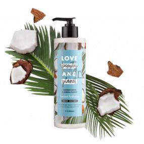 Love Beauty & Planet Kokosová voda a květiny Mimózy hydratační tělové mléko 100 ml