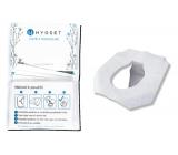 Hygset Jednorázová papírová sedátka, Wc hygienický kryt toaletního prkénka 10 kusů