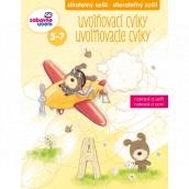 Ditipo Stíratelný sešit Uvolňovací cviky pro děti 5-7 let 16 stran 215 x 275 mm
