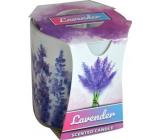 Admit Verona Lavender - Levandule vonná svíčka ve skle 90 g