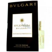 Bvlgari Splendida Patchouli Tentation parfémovaná voda pro ženy 1,2 ml s rozprašovačem, vialka