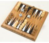 Albi Bambusové minihry Backgammon společenská hra pro 2 hráče