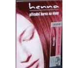 Henna Přírodní barva na vlasy Bordó 121 prášková 33 g