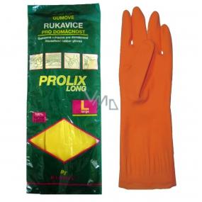 Bartoň Prolix Rukavice gumové ochranné velikost L 1 pár