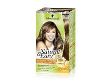 Schwarzkopf Natural & Easy barva na vlasy 560 Světle hnědý kašmír