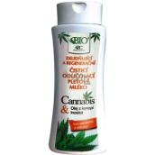 Bione Cosmetics Cannabis čisticí odličovací pleťové mléko 255 ml