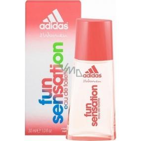Adidas Fun Sensation toaletní voda pro ženy 30 ml