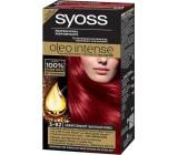 Syoss Oleo Intense Color barva na vlasy bez amoniaku 5-92 Zářivě červený