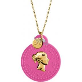 Ops! Objects Trésor Necklace náhrdelník OPSKCL-04 růžová