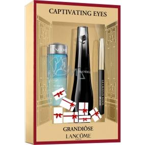Lancome Grandiose Mascara řasenka černá 6,5 ml + Bi-Facil dvousložkový odličovač očí 30 ml + Crayon Khol Mini tužka na oči černá 0,7 g, kosmetická sada