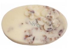 Bomb Cosmetics Frangipani Kiss Massage Bar Masážní tuhé máslo 80 g