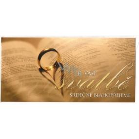 Nekupto Přání k svatbě Maxovky K Vaší svatbě, G 21 3258