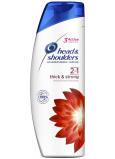Head & Shoulders Thick & Strong 2v1 šampon a balzám na vlasy proti lupům 360 ml