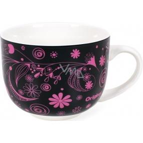 Albi Original Hrnek Růžové květy, porcelán 500 ml