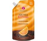 Dermacol Aroma Ritual Belgická čokoláda Harmonizující mýdlo na ruce náhradní náplň 500 ml