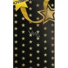Nekupto Dárková papírová taška s ražbou malá 18 x 11 x 8 cm Vánoční 1503 WLFS