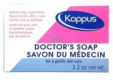 Kappus Antibakteriální lékařské toaletní mýdlo mýdlo s dexpanthenolem a ureou 100 g