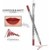 Revers Contour & Matt Lip Pencil konturovací tužka na rty 02 Marsala 2 g