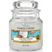 Yankee Candle Coconut Splash - Kokosové osvěžení vonná svíčka Classic malá sklo 104 g
