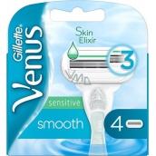 Gillette Venus Smooth Sensitive náhradní hlavice 4 kusy pro ženy