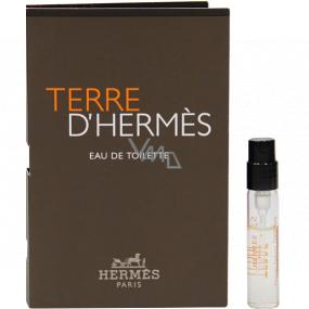 Hermes Terre D Hermes toaletní voda pro muže 2 ml vialka