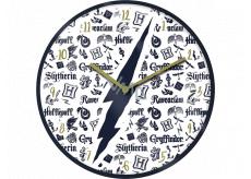 Epee Merch Harry Potter Nástěnné hodiny 24,5 x 24,5 cm