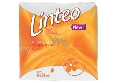 Linteo Classic bílé papírové ubrousky 1-vrstvé 33 x 33 cm 100 kusů