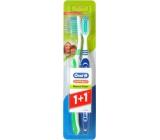 Oral-B 3-Effect Natural Fresh střední zubní kartáček 1 + 1 ks