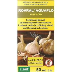 Agro Rovral Aquaflo přípravek proti houbovým chorobám a k moření česneku 50 ml