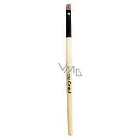 Be Chic! Professional White B 18 kosmetický štětec na obočí, syntetický vlas 14,6 cm