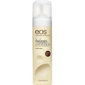 Eos Ultra Moisturizing Shave Cream Vanilla Bliss, Vanilkový požitek hydratační krém na holení 207 ml
