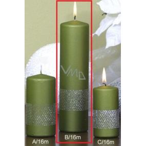 Lima Stuha svíčka světle zelená válec 60 x 220 mm 1 kus