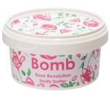 Bomb Cosmetics Revoluce růží - Rose Revolution Přírodní tělové máslo ručně vyrobeno 210 ml