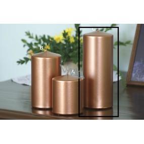 Lima Metal Serie svíčka měděná válec 80 x 200 mm 1 kus
