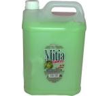Mitia Family Green Apple tekuté mýdlo náhradní náplň zelené jablko 5 l