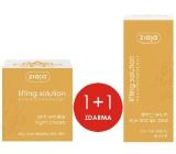 Ziaja Lifting Solution noční krém proti vráskám 50 ml + sérum na okolí rtů a očí 30 ml, duopack