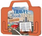 If The Travel Book Rest Cestovní držák na knihu/tablet Oranžový 180 x 10 x 142 mm