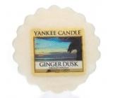 Yankee Candle Ginger Dusk - Zázvorový soumrak vonný vosk do aromalampy 22 g