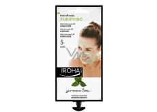 Iroha Purifying Čisticí aromaterapeutická slupovací maska se zeleným čajem 25 g
