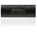 Millefiori Icon Nero - Černá Vůně do auta Shades Metal tmavě hnědá voní až 2 měsíce 47 g