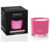 Millefiori Milano Natural Jasmine Ylang - Jasmín a Ylang Vonná svíčka hoří až 60 hodin 180 g