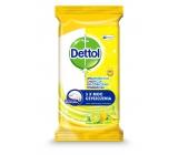 Dettol Citron & Limetka antibakteriální ubrousky na povrchy 36 kusů