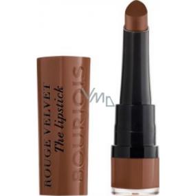 Bourjois Rouge Velvet The Lipstick rtěnka 14 Brownette 2,4 g